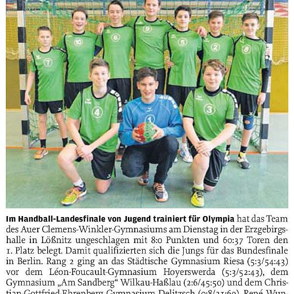 Winkler-Team setzt sich durch - 04.03.2016
