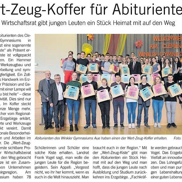 Wert-Zeug-Koffer für Abiturienten - 06.04.2019