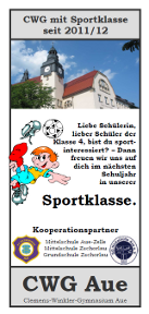 Sportklasse CWG Aue